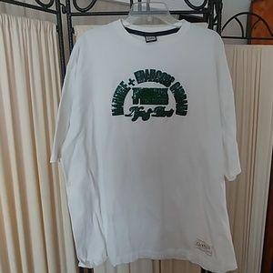 Mens White Girbaud T-shirt 2XL